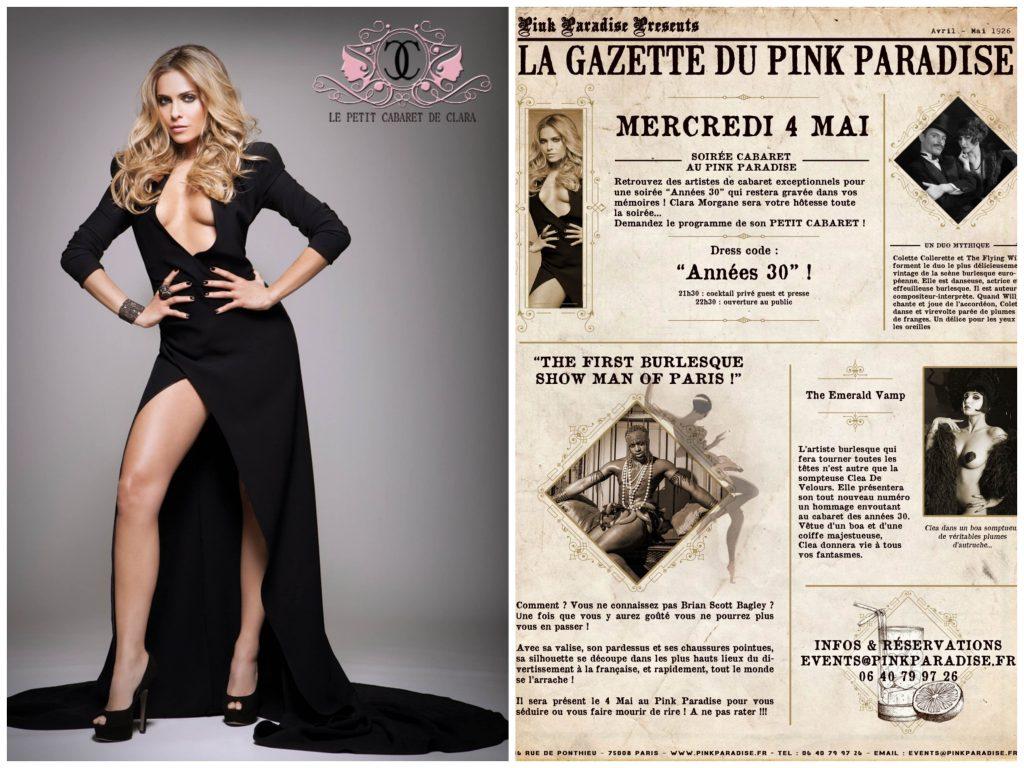 Le Petit Cabaret de Clara au Pink Paradise