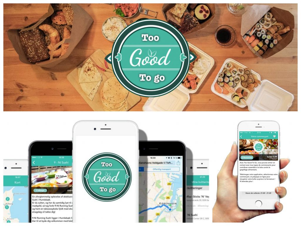 Stop au gaspillage alimentaire avec Too Good To Go