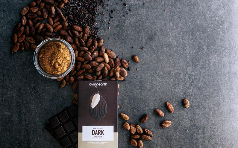 Loving Earth : le chocolat cru dans tous ses états