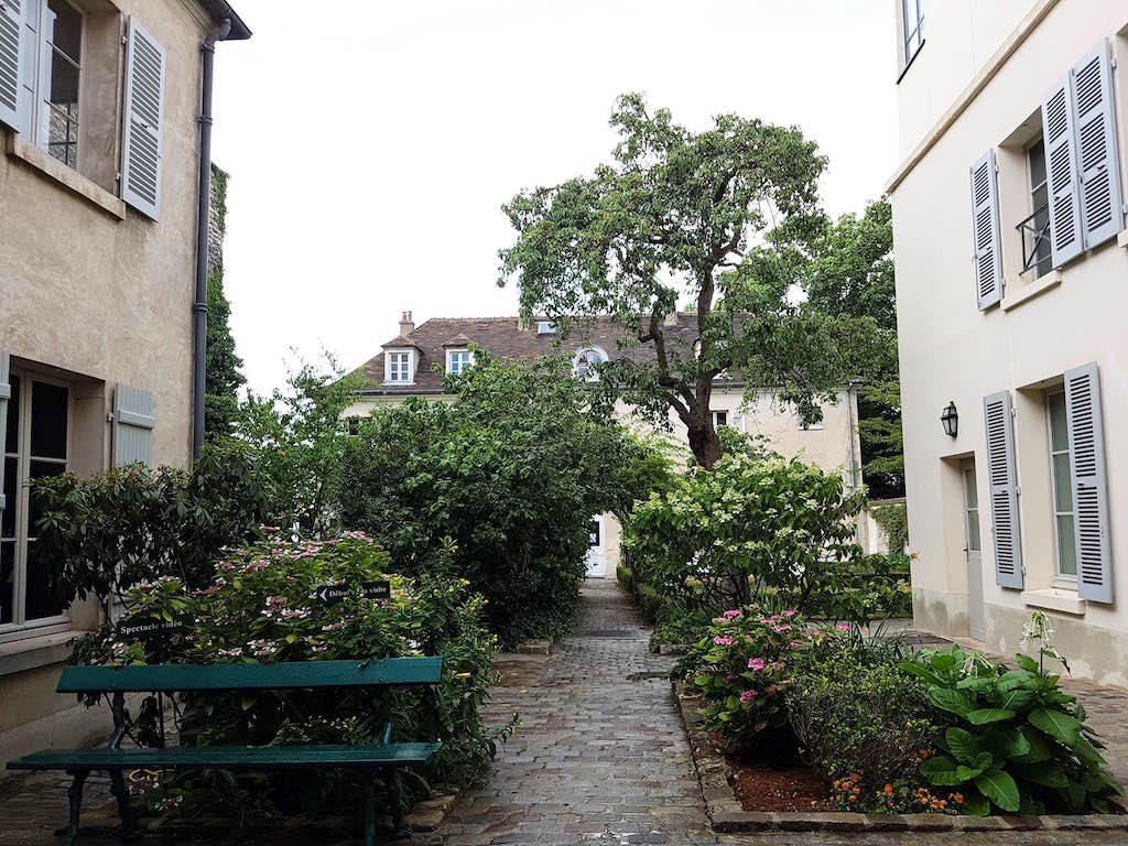 Le musée Montmartre, son café et ses jardins cachés
