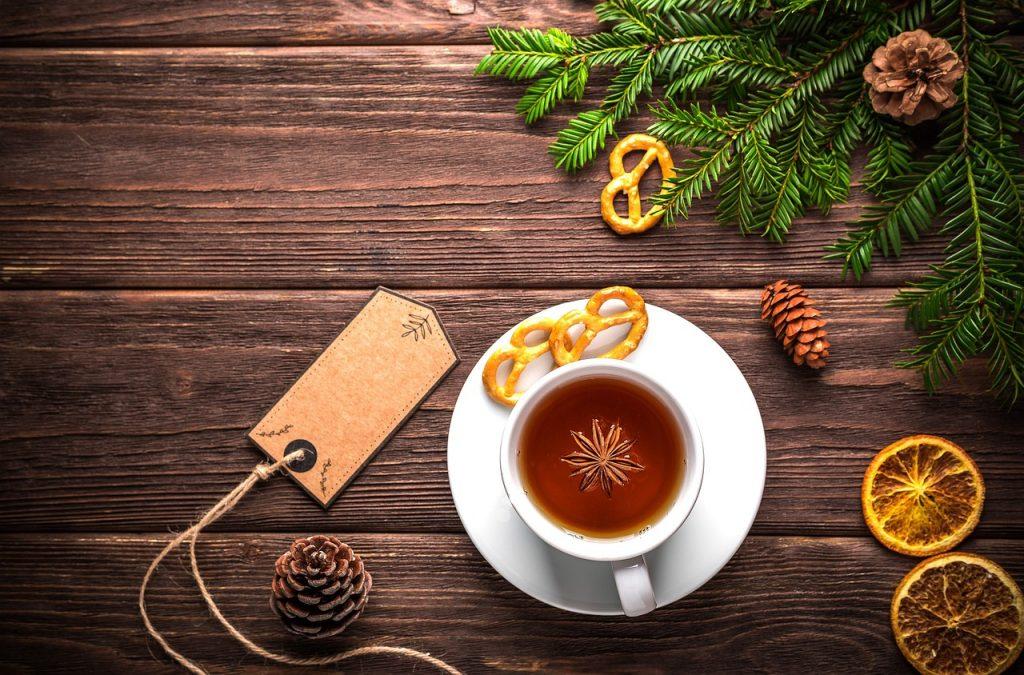 Du thé, encore du thé pour un Noël parfait