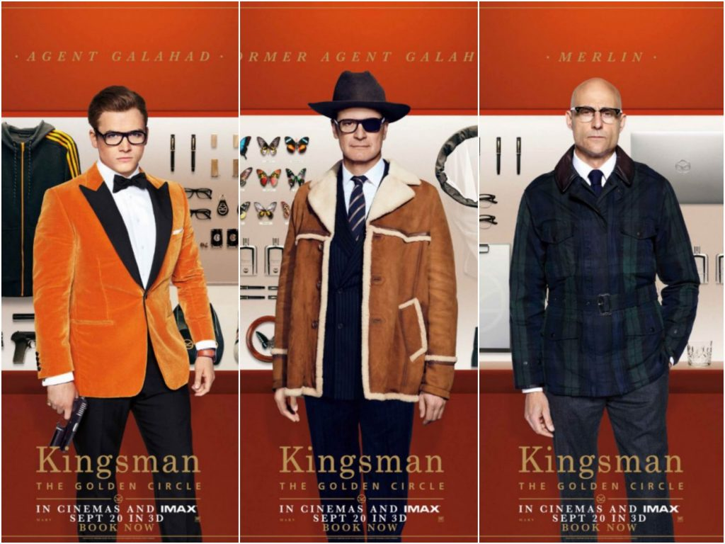 Kingsman Le Cercle d'Or : plus fou, plus fort, plus wild !