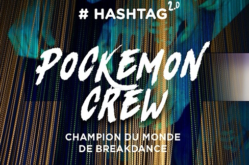 Pockemon Crew sort le hashtag 2.0