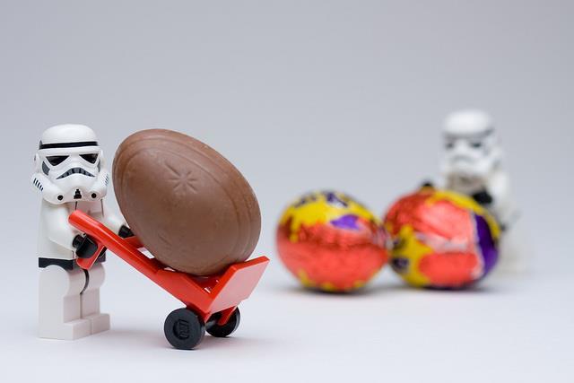 Pâques à l'horizon, chocolats dans le bidon !