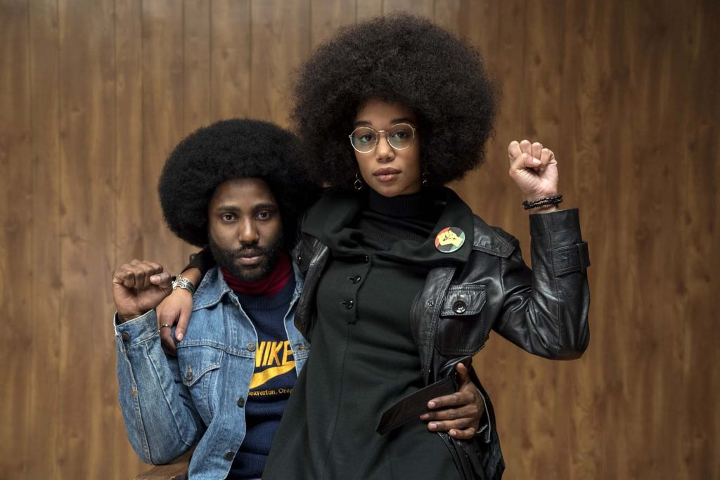 BlacKkKlansman de Spike Lee : black lives matter