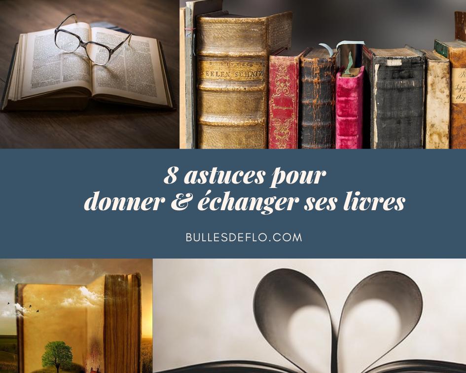 Don & troc : 8 astuces pour redonner vie à vos livres d'occasion