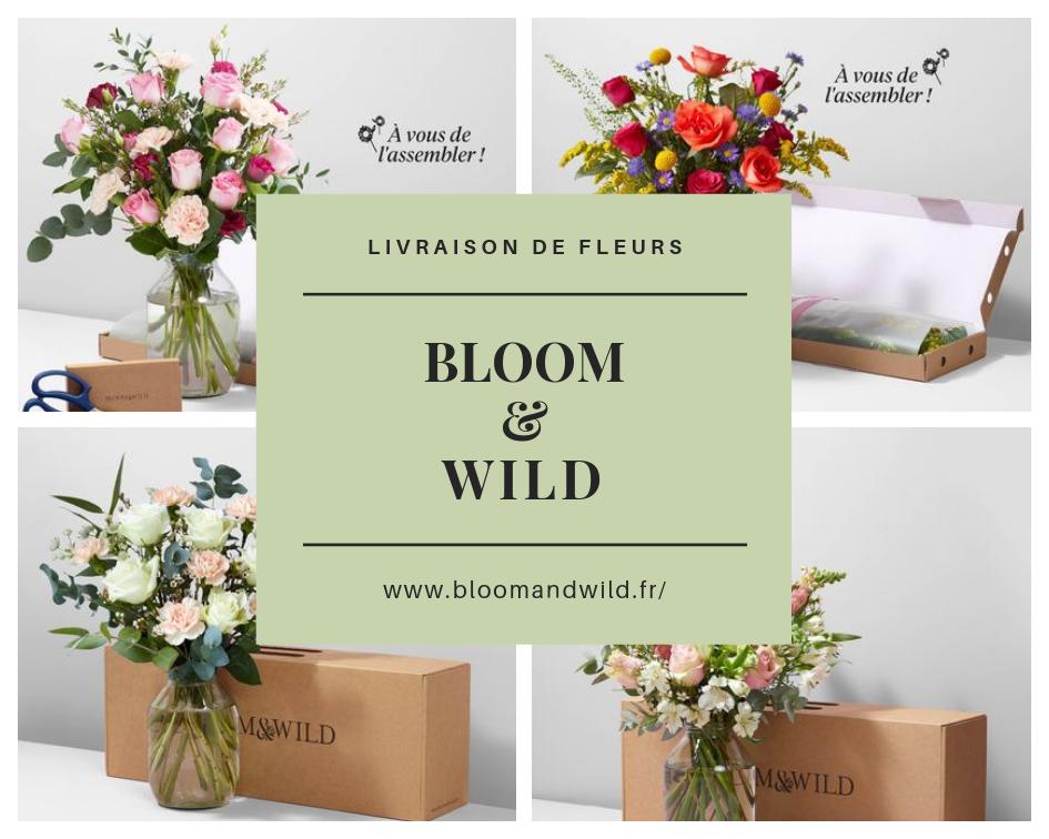 Bloom & Wild : faites-vous plaisir avec des fleurs !