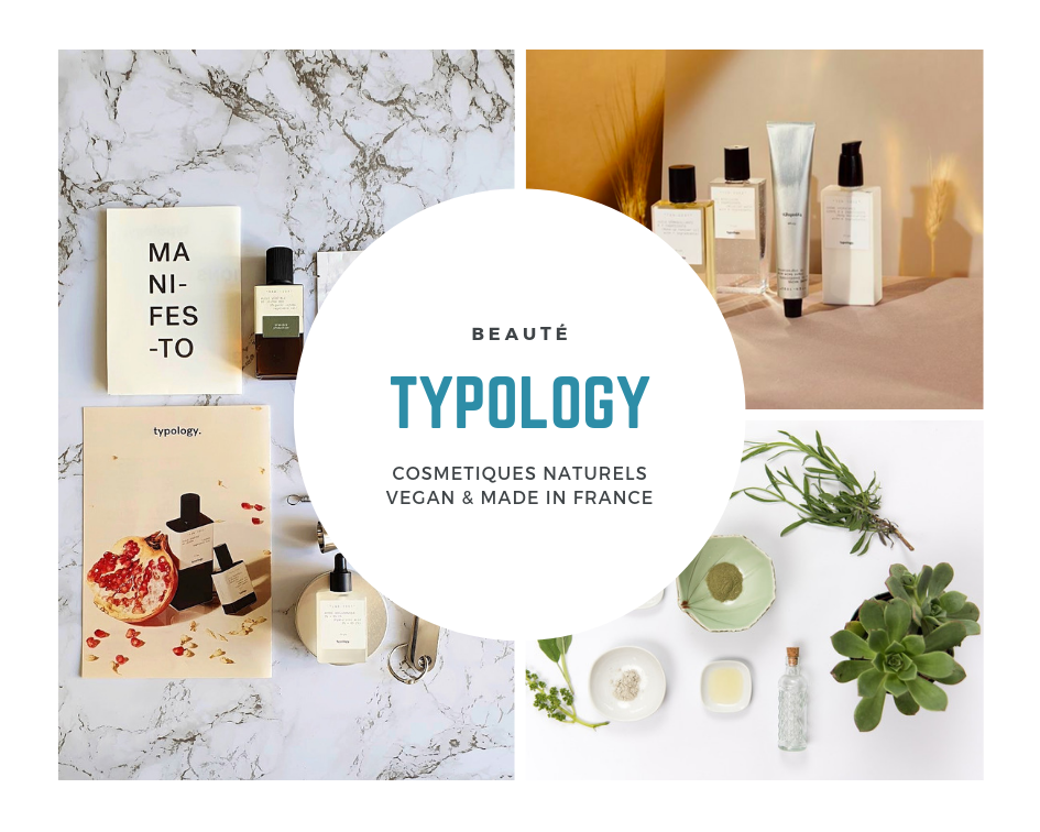 Revenir à l'essentiel avec les cosmétiques Typology