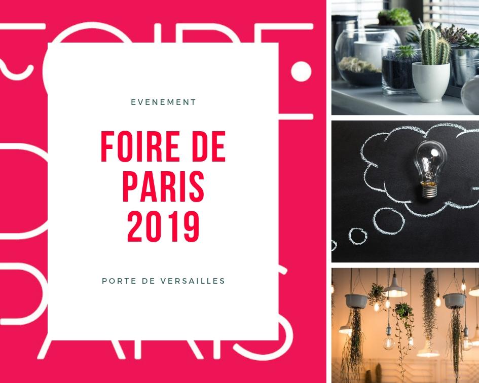 Bienvenue à la Foire de Paris 2019