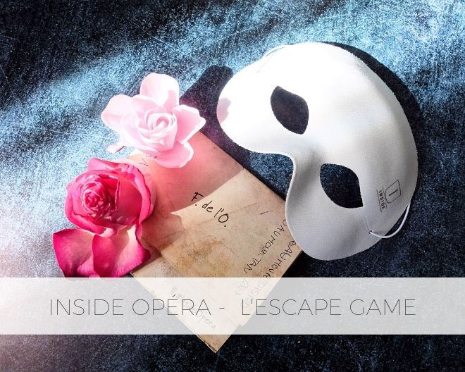 Inside Opéra : l'escape game au cœur du Palais Garnier
