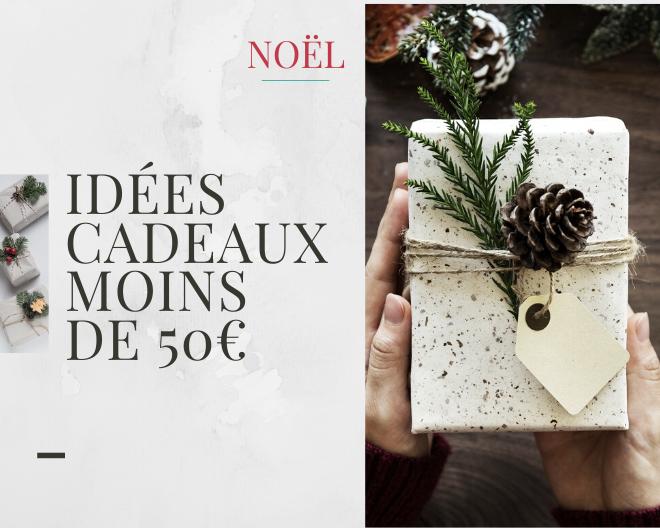 Noël : sélection d'idées cadeaux à moins de 50€