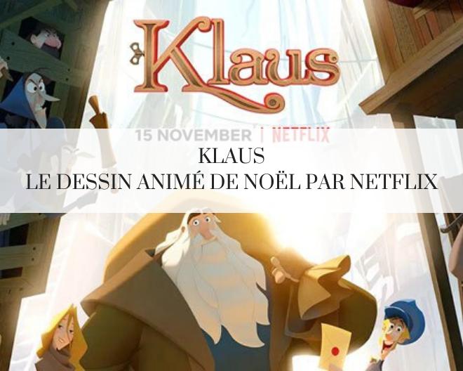 Klaus met Netflix en mode Noël