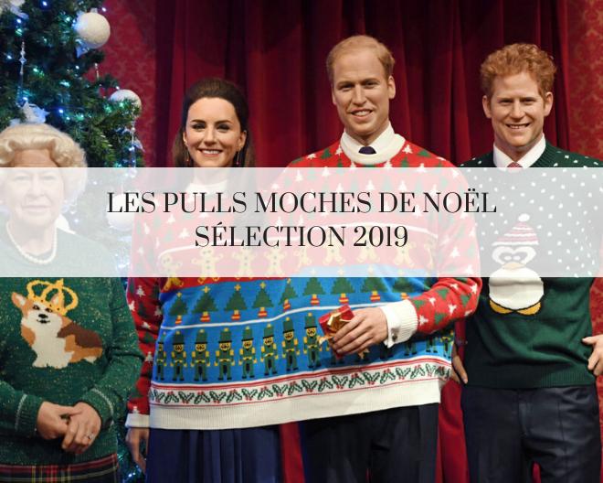 Le pull moche de Noël sélection 2019