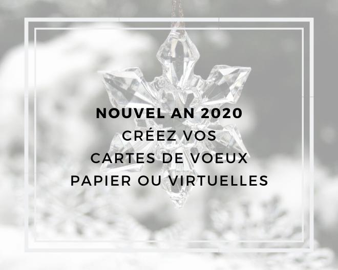 Cartes de vœux 2020 : ma sélection de sites
